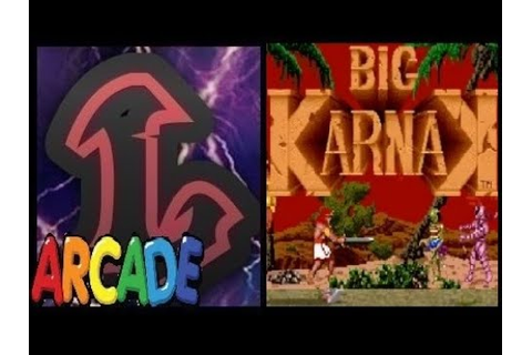 BIG KARNAK ARCADE Longplay by legion games - YouTube