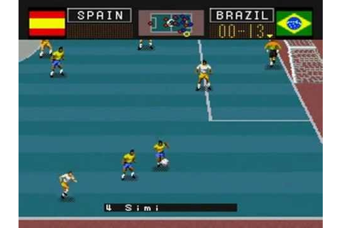Soccer Shootout [SNES] - Indoor Game - YouTube