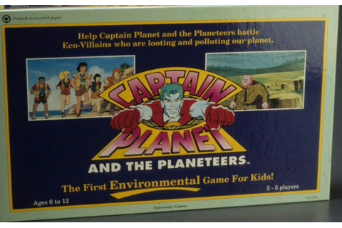 Board Game of the Week: Captain Planet and the Planeteers ...