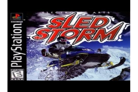 Sled Storm Game Review (PS1) - YouTube