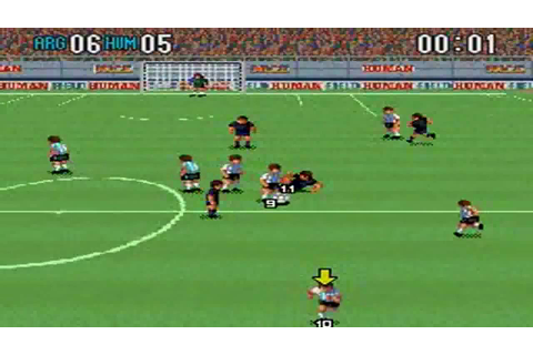 Super Formation Soccer 2 : Argentina VS Human - YouTube