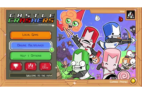 Castle Crashers Remastered Main Menu, New Game Mode and ...