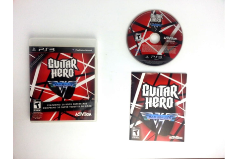 Guitar Hero: Van Halen game for Playstation 3 (Complete ...