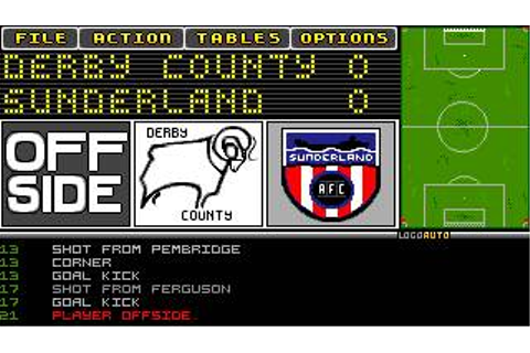 Tactical Manager Download (1994 Amiga Game)