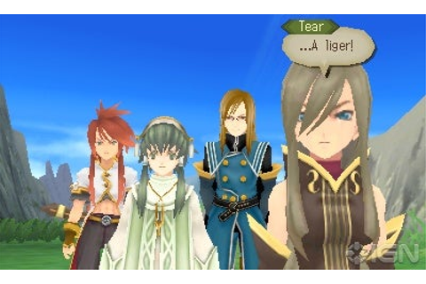 Tales of the Abyss 3DS Review - IGN