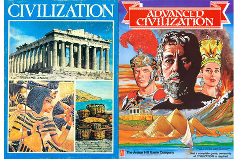 Avalon Hill Civilization/Advanced Civ PDF Reference DVD | eBay