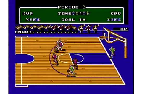 CLASSIC GAMES REVISITED - Double Dribble (Nintendo NES ...