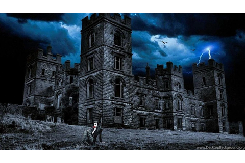 Wallpapers Fantasy Castles Dark Castle Enchanted Hd Inhq ...