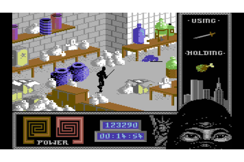 Last Ninja 2 Longplay (C64) [50 FPS] - YouTube
