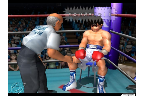 Victorious Boxers Ippo s Road to Glory PS2 ISO Download