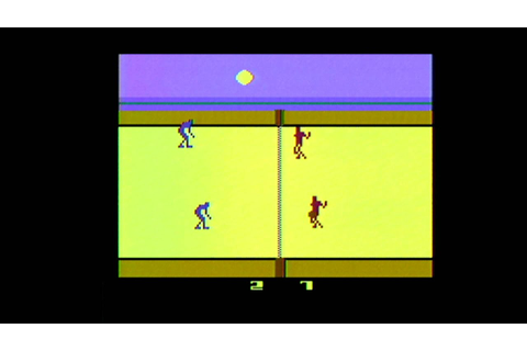 Classic Game Room - REALSPORTS VOLLEYBALL review for Atari ...