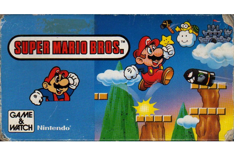 Super Mario Bros. (Game & Watch) | Nintendo | FANDOM ...