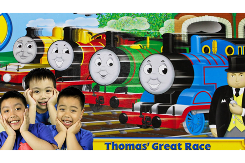 THOMAS AND FRIENDS THE GREAT RACE Toy Trains| Family Fun ...