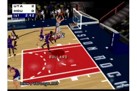NBA Live 99 [N64] - YouTube