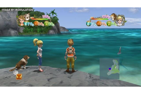 Lost In Blue - Shipwrecked (USA) Nintendo Wii ISO Download ...