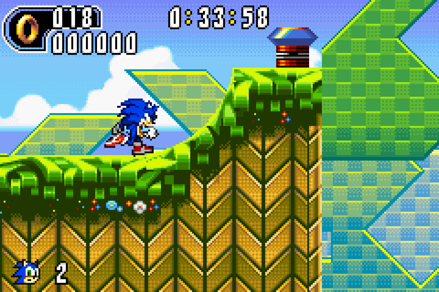 Sonic Advance 2 Screenshots | GameFabrique