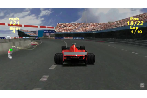 Formula One 99 PS1 Gameplay HD - YouTube