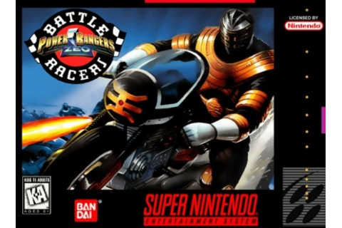 Power Rangers Zeo : Battle Racers [Europe] - Super ...
