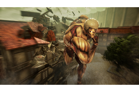 Attack on Titan: Wings of Freedom (PS4 / PlayStation 4 ...