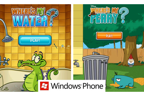 Download Where's My Water and Where's My Perry on Windows ...