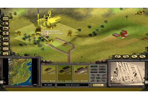 Railroad Tycoon 2 Platinum - 16 - Classic Campaign: The ...