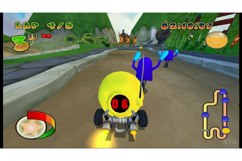 Pac-Man World Rally PS2 Gameplay HD (PCSX2) - YouTube
