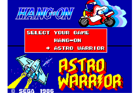Hang-On & Astro Warrior (USA) ROM