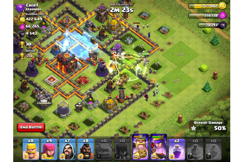 Clash of Clans for Android | Download World No.1 Epic ...