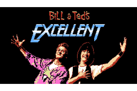 Bill & Ted's Excellent Video Game Adventure - NES Gameplay ...