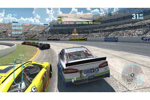 NASCAR The Game 2013 GAMEPLAY PC - YouTube