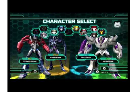 Transformers Prime The Game Wii U Multiplayer part 54 ...
