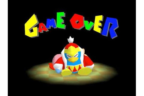 Game Over: Kirby 64 - The Crystal Shards - YouTube