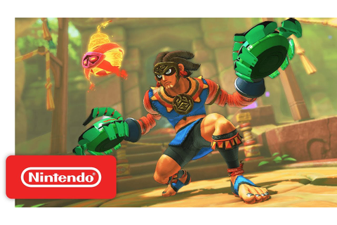ARMS 4.0 Update: New Fighter - Misango - Nintendo Switch ...