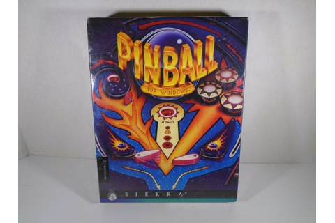 1995 SIERRA--TAKE A BREAK PINBALL--PC GAME (NEW) | eBay