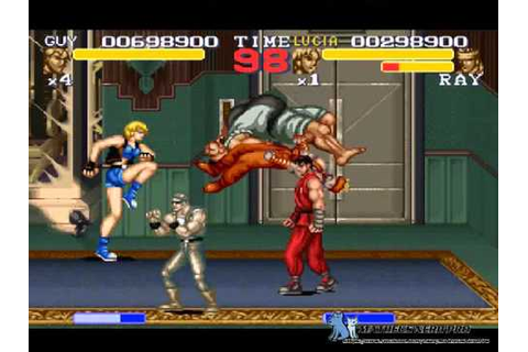 Final Fight 3 (SNES) Final Game - Boss Black Soldier - YouTube