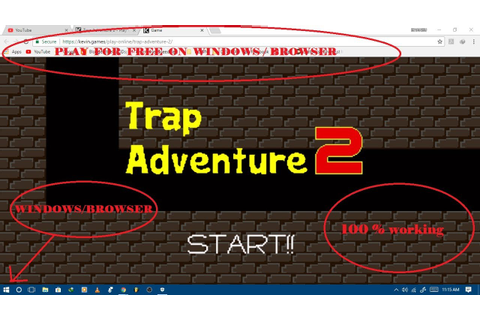 PLAY TRAP ADVENTURE 2 on PC (100% WORKING) - YouTube