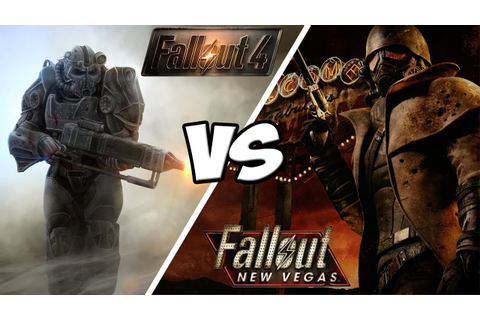 Fallout 4 VS Fallout New Vegas (Best Fallout Game?) - YouTube