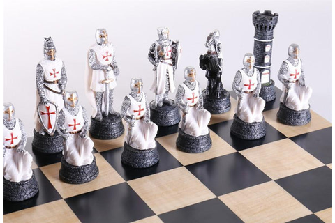 Crusades Chess Set – Chess House