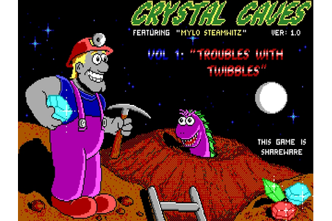 Download Crystal Caves | DOS Games Archive