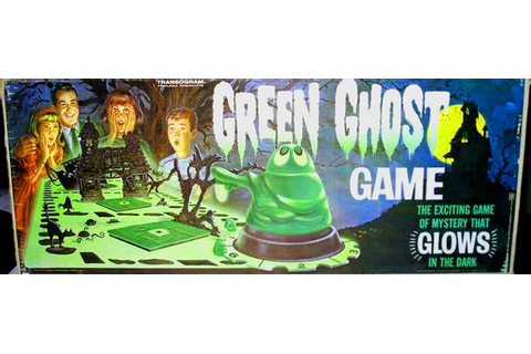 Cool Vintage Toys: The Green Ghost game