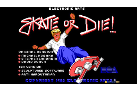 Skate or Die gameplay (PC Game, 1987) - YouTube