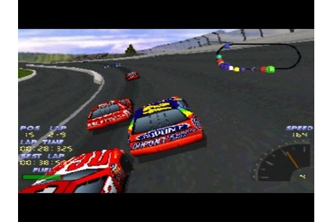 NASCAR 98 - PlayStation racing simulator video game by EA ...