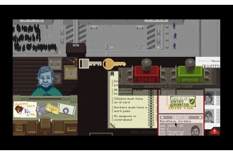 Papers Please Review | New Game Network