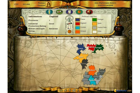 Imperialism II: The Age of Exploration download PC