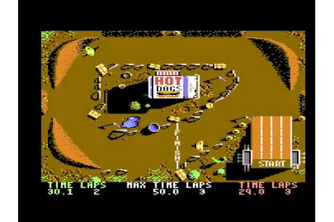 BMX Simulator - C64 - YouTube