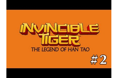 Invincible Tiger: The Legend of Han Tao - Gameplay ...