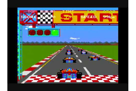 MAME: Pole Position (Arcade Game) - YouTube