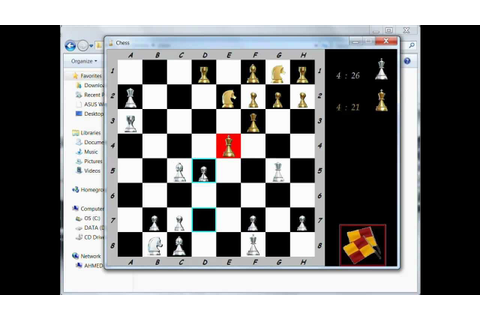 Chess Game (JAVA-SWING) - YouTube