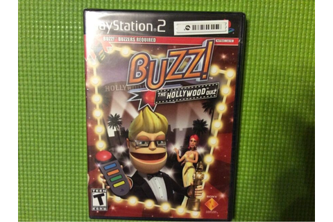 Buzz!: The Hollywood Quiz (game only) (Sony PlayStation 2 ...