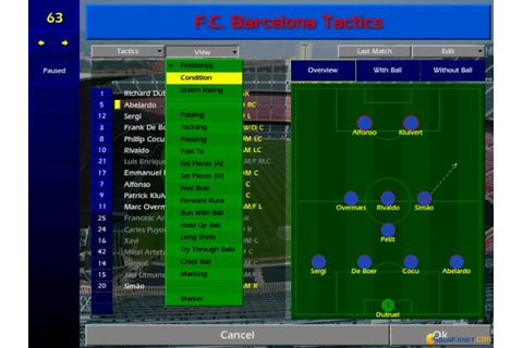 Championship Manager: Season 00/01 download PC